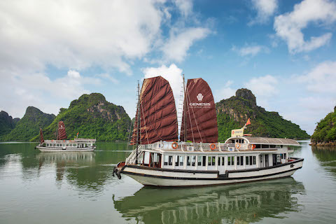 Halong Luxury Day Cruise - 5 Hours on board